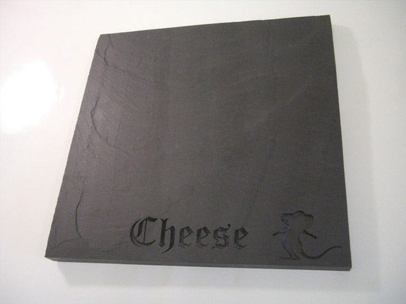 Cheeseboard made from Slate Stone