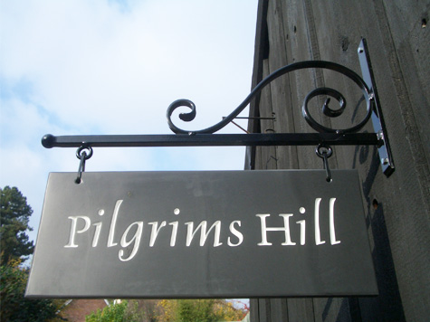 House Sign for Pilgrams Hill