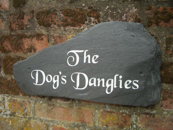 Slate Stone Julie : House plaques name plates made from stones for homes