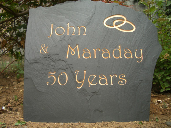 Wedding Anniversary Stone Gift